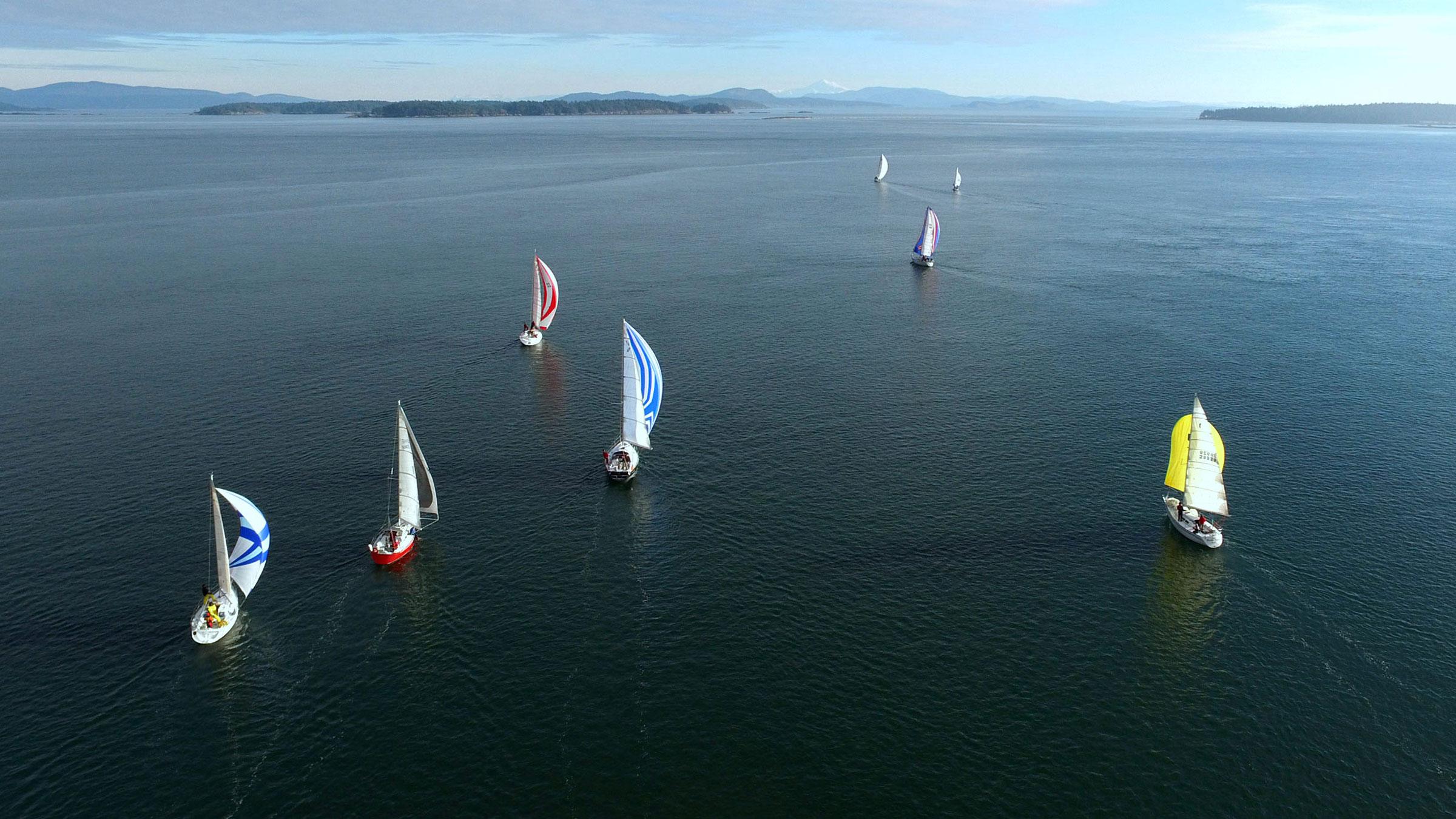 Blackline Patos Island Race